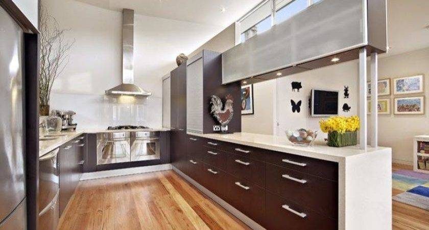 Shaped Kitchen Designs Style