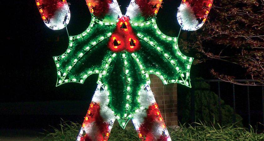 Shop Holiday Lighting Specialists Crossed Candy
