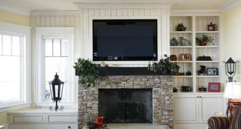 Should Install Over Fireplace Little