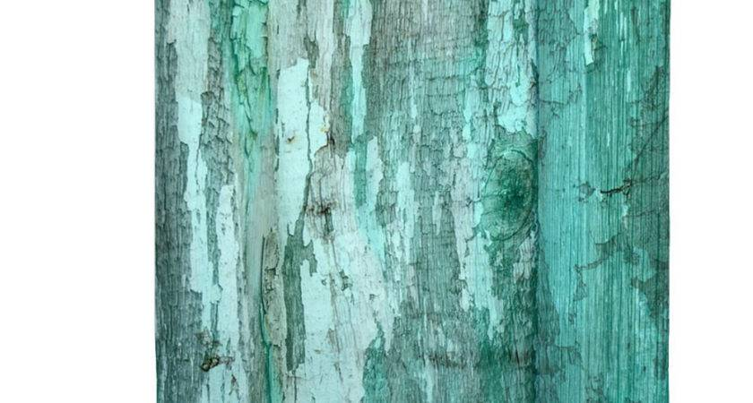 Shower Curtain Rustic Primitive Turquoise Green Weathered