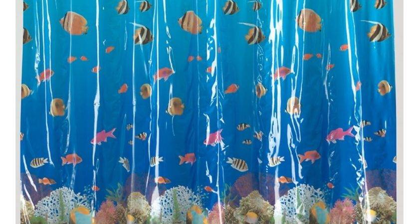 Shower Curtains Fish Theme Walmart Design