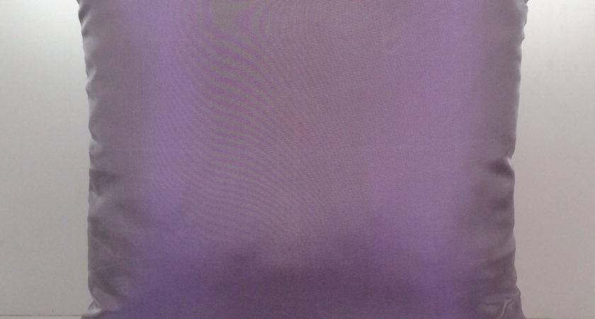 Silver Purple Pillow Throw Cover Decorative