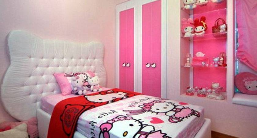 Simple Bedroom Decoration Girls Home Combo