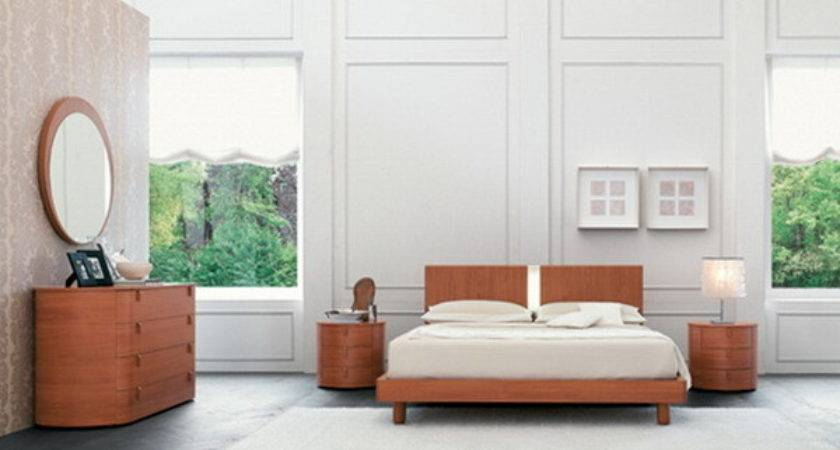 Simple Bedroom Decoration Wood Furniture Home