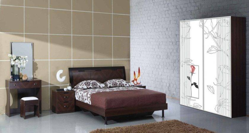 Simple Bedroom Design Wall Wardrobe