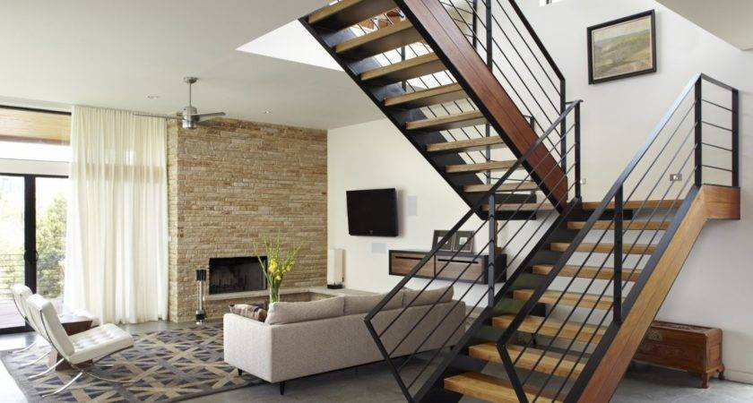 Simple Stairs Interior Design Wooden Share