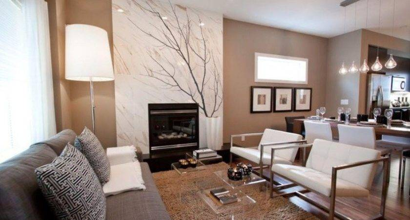 Simple Warm Neutral Paint Colors Living Room Doherty