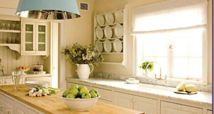 Simple White Kitchen French Bathroom Cabinets