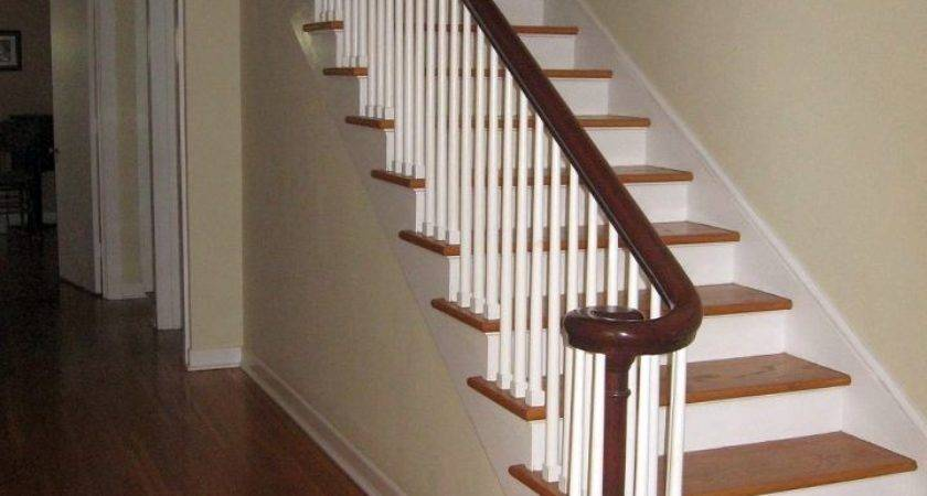 Simple Wooden Staircase Designs Wide Linings