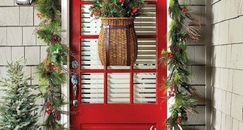 Simply Inspired Holidays Decorating Your Front Door