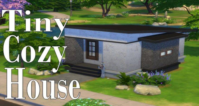 Sims Tiny Cozy House Speed Build Simspinky Youtube