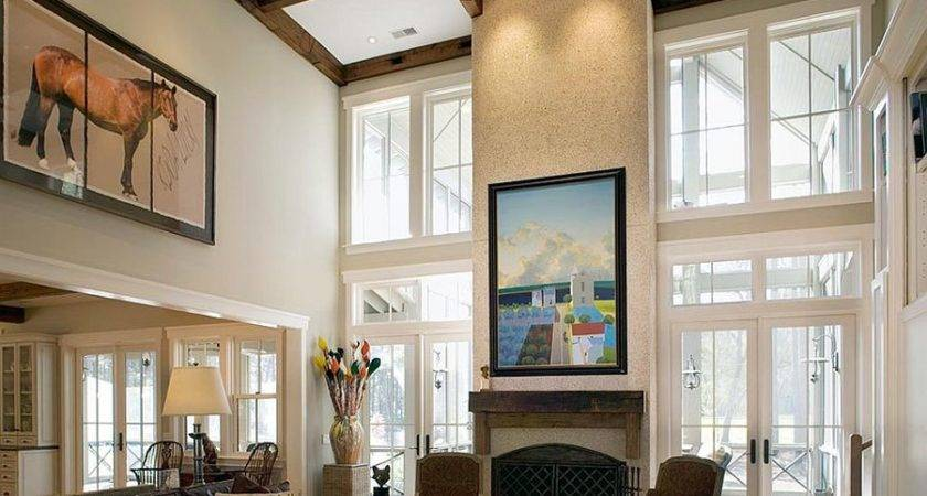 Sizing Down Decorate Home High Ceilings