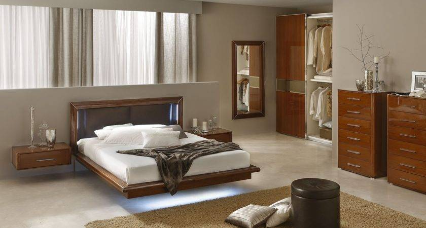 Sky Modern Italian Bedroom Set Contemporary