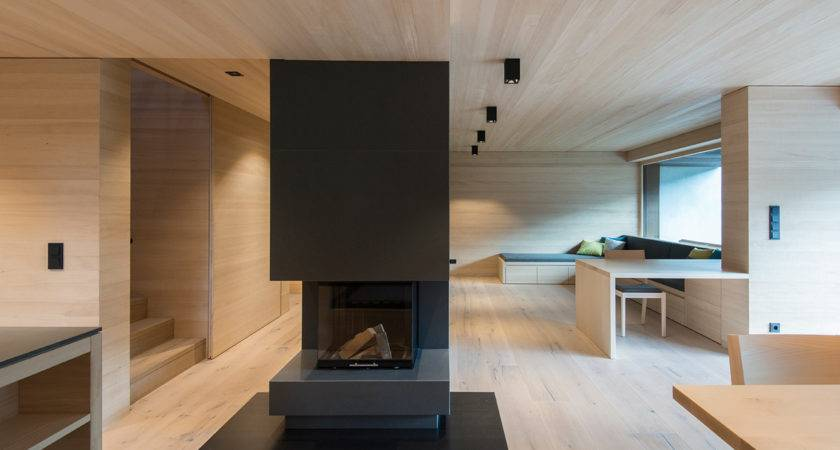 Sleek Interiors Wood Takes Center Stage