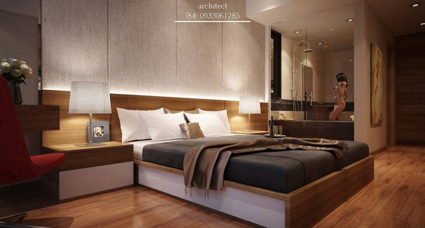 Small Apartment Bedroom Interior Design Bach Trong