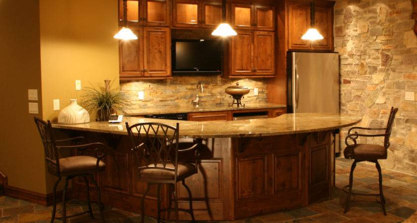 Small Bar Basement Decor Ideas Decobizz