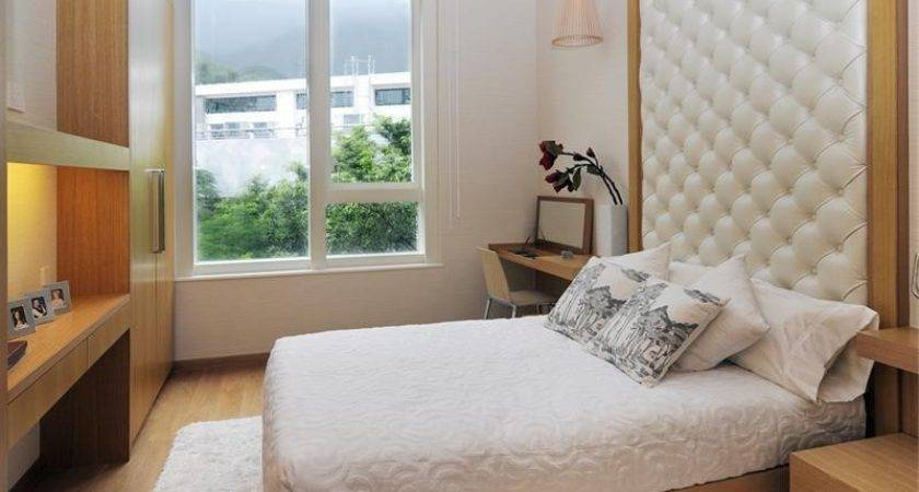 Small Bedroom Design Ideas White Leather Extra High