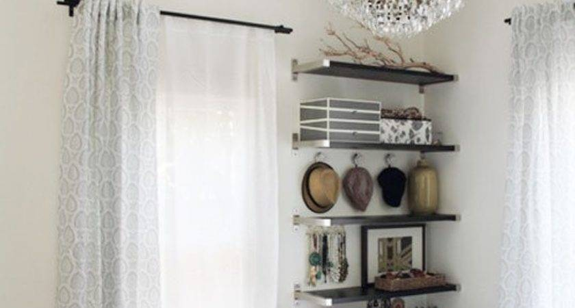 Small Bedroom Ideas Floating Wall Shelves Don Take