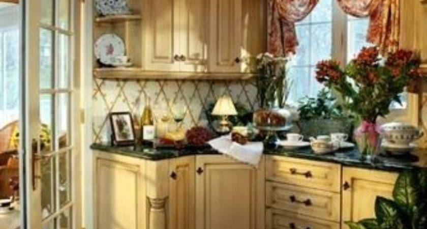 Small French Country Kitchen Endearing Best