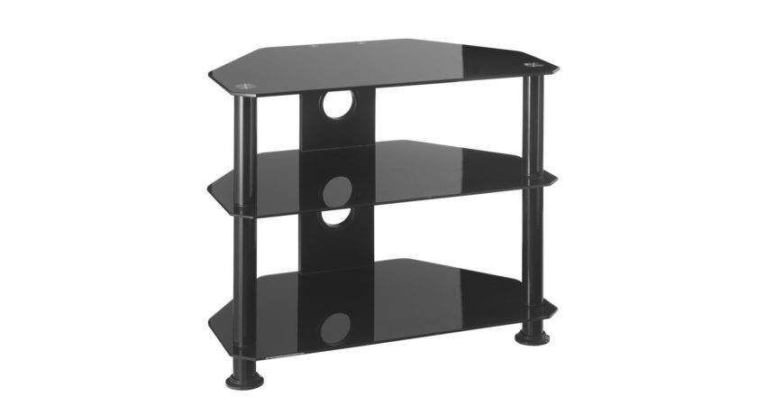 Small Glass Corner Stand Inch Mmt