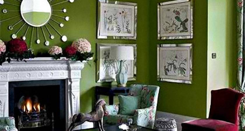 Small Green Living Room Interior Design Inspirations