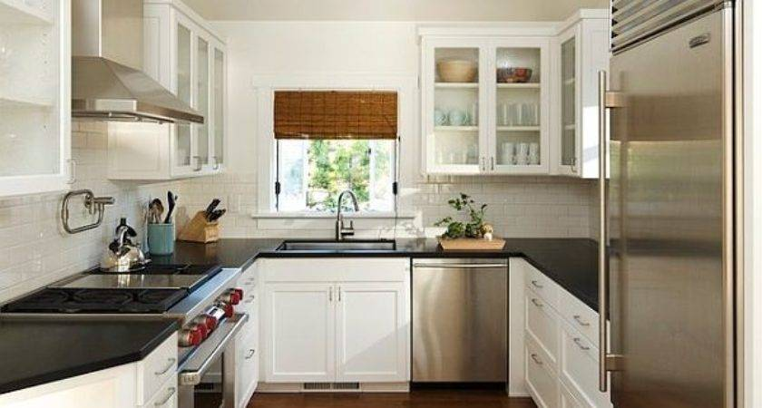 Small Kitchen Design Shaped Layout Home Decor