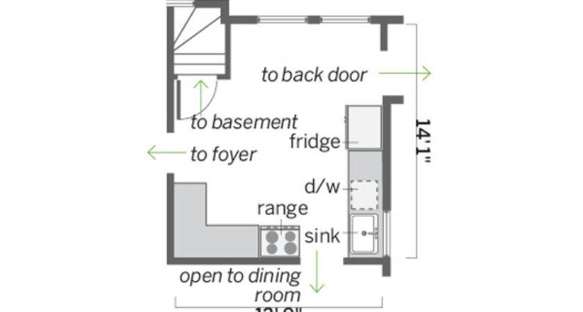 Small Kitchen Floor Plans Galley Afreakatheart
