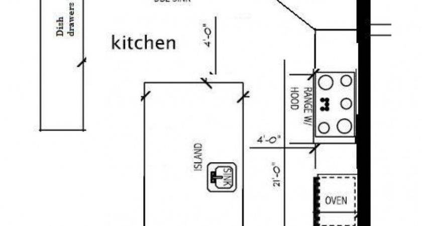 Small Kitchen Floor Plans Houses Flooring Ideas