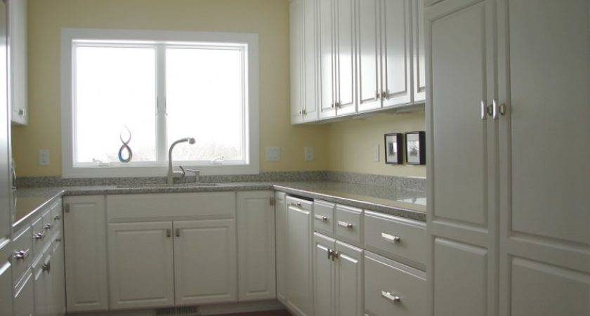 Small Kitchens White Cabinets Shaped Kitchen Design