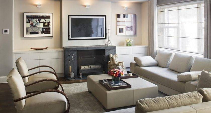 Small Living Room Ideas Fireplace