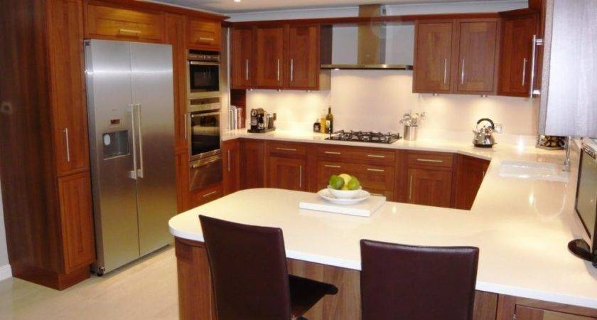 Small Shaped Kitchen Layout Ideas