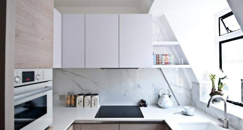 Small Space Big Style Kitchen Contemporary