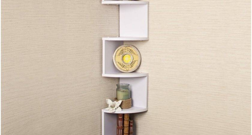 Small Wall Mounted Corner Shelf