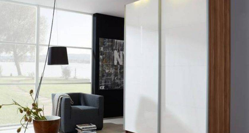 Small Wardrobe Design Sliding Doors Using Modern