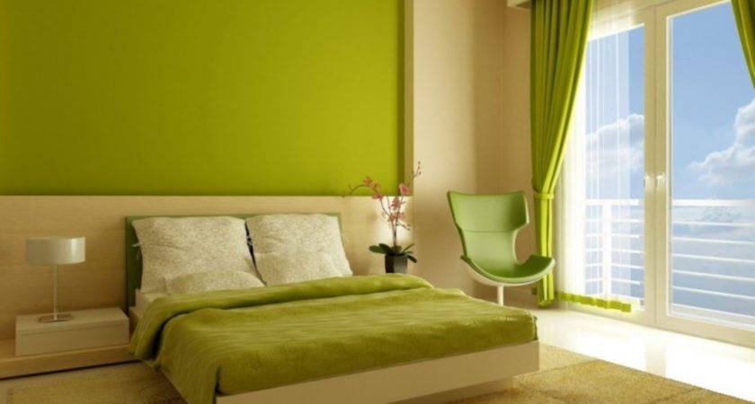 Smart Arrangement Interior Design Lime Green Living