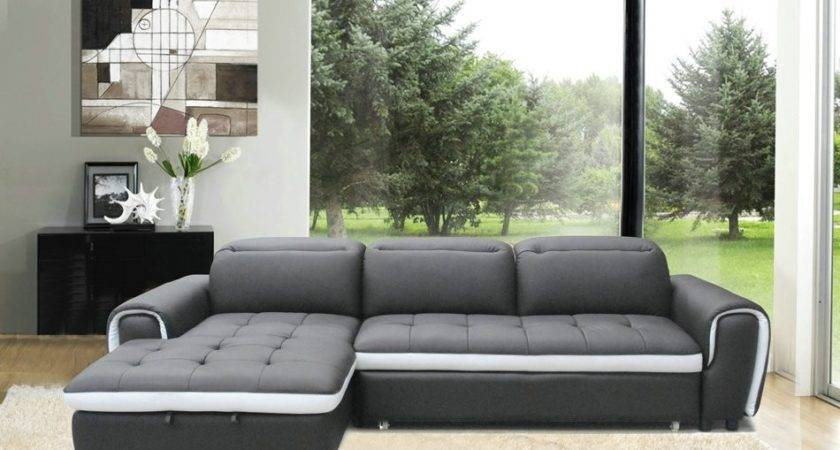 Sofa Awesome Shaped Leather Couch Design
