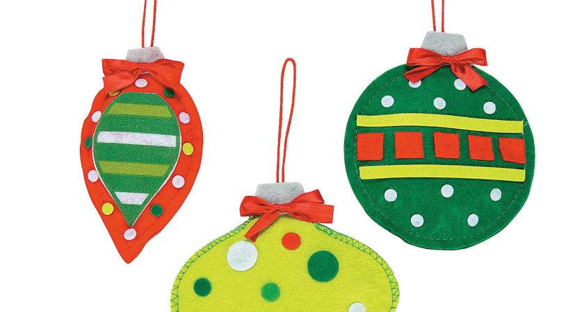 Soft Christmas Ornament Craft Kit Crafts Adult