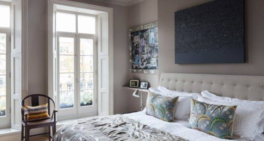 Soft Grey White Nordic Bedroom Decorating