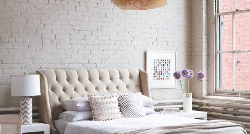 Soft Industrial Chic Brick Effect Lobster