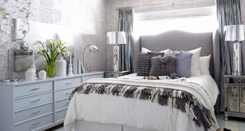 Sophisticated Bedroom Fit Winter Guests Hgtv