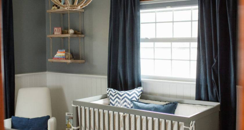 Sophisticated Modern Nautical Nursery Project