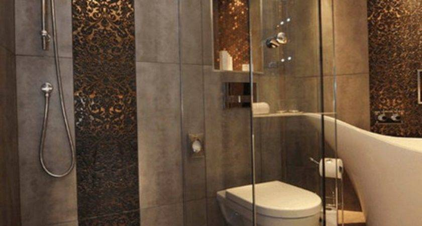 Spectacular Gold Mosaic Bathroom Tiles Artenzo