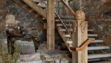Splendid Rustic Staircase Designs Inspire Ideas