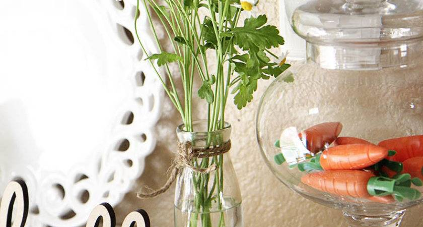 Spring Decorating Ideas Time Heart Nap