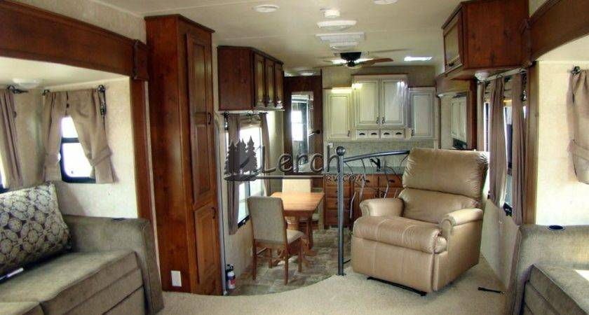 Sprinter Keystone Front Living Room Design Ideas