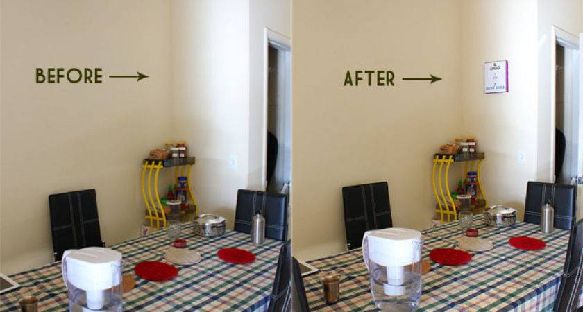 Spusht Chats Frugal Diy Wall Decorating Idea Apartment