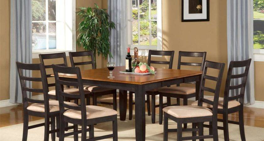 Square Dinette Dining Room Table Set Chairs Ebay