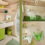 Square Meters Smart Student Unit Green