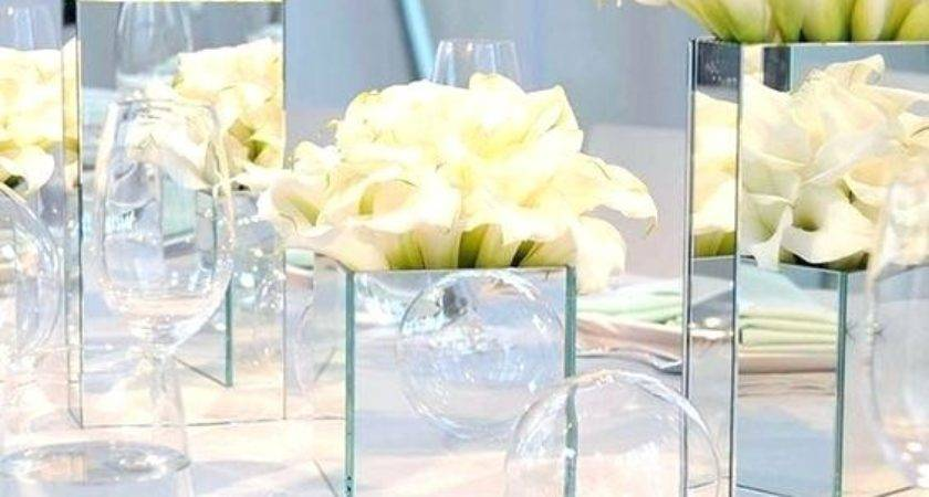 Square Mirror Table Decor Best Christmas