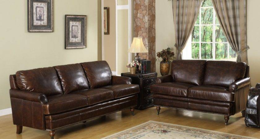 Staggering Chocolate Brown Leather Couch Decorating Ideas